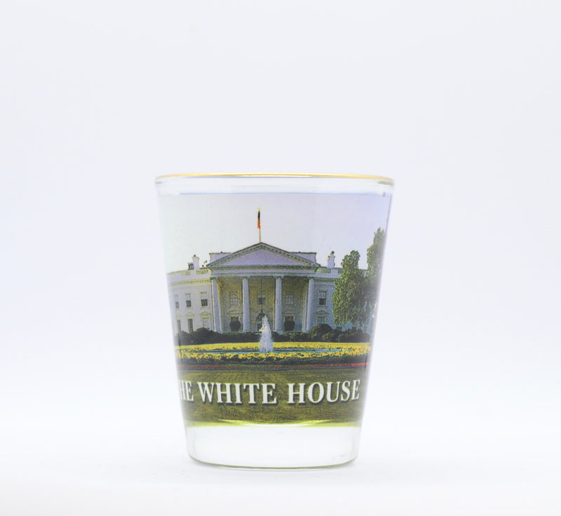 The White House Shot Glass