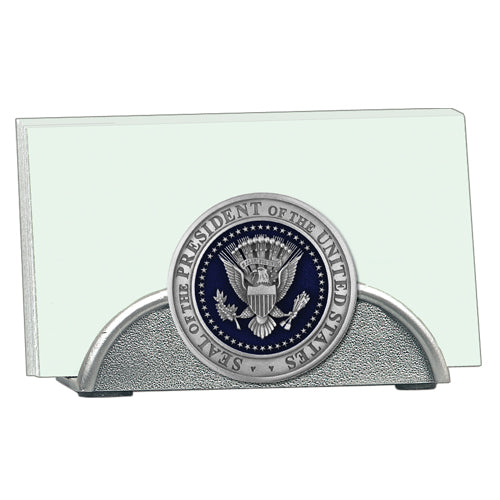 Presidential Seal Enamel Business Card Holder