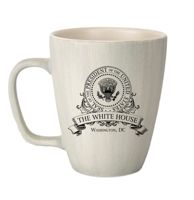 Presidential Seal Cream Mug