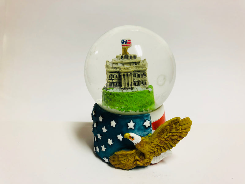 White House Snow Globe