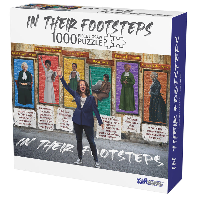 In Their Footsteps 1000pc Puzzle