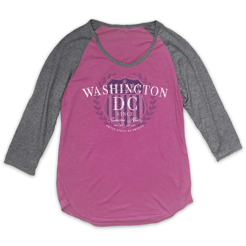 Washington DC Badge T-Shirt