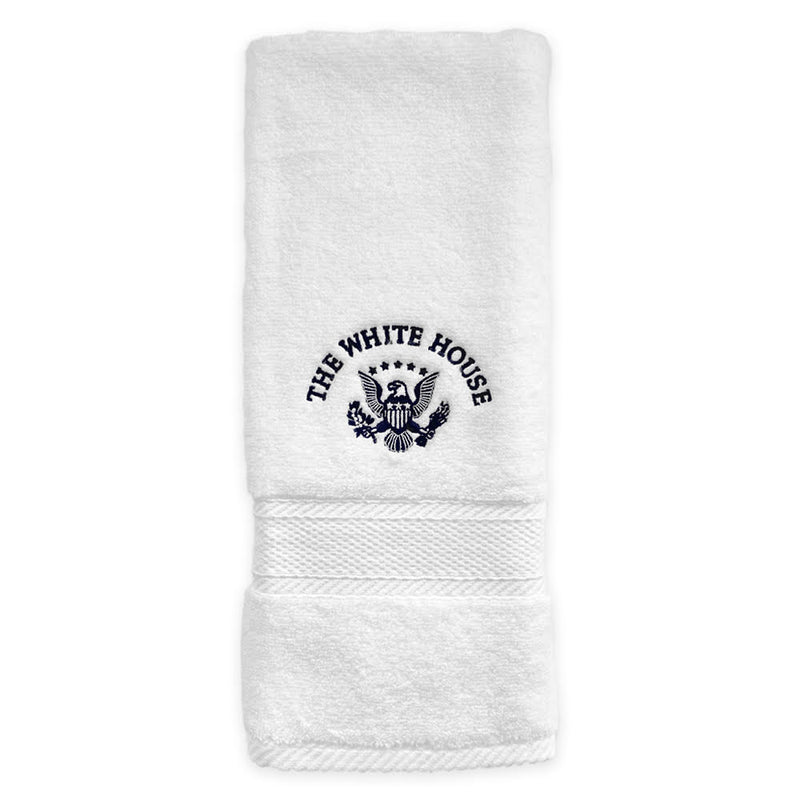 White House Embroid Hand Towel