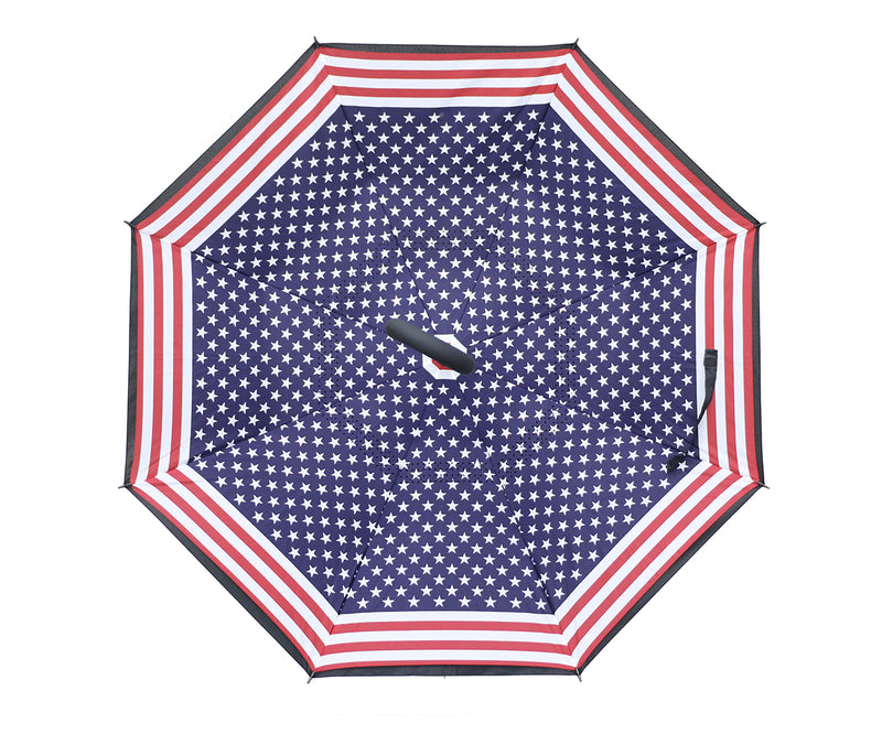 Topsy Turvy Flag Umbrella