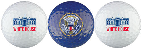 White House Blue Seal  Golf Balls
