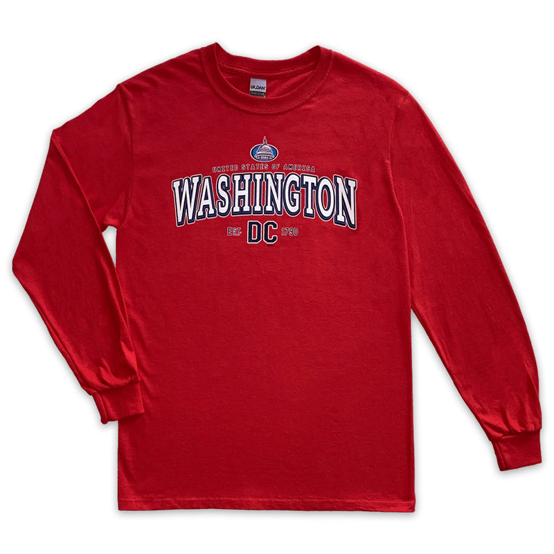 Washington DC Sports Club long sleeve t-shirt