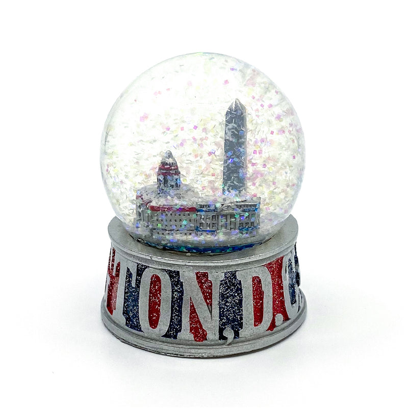 Snow Globe-Large DC Collage Red/blue