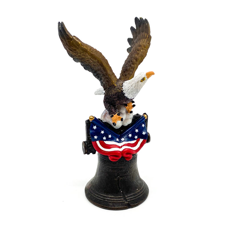 Statue-Eagle With Bell