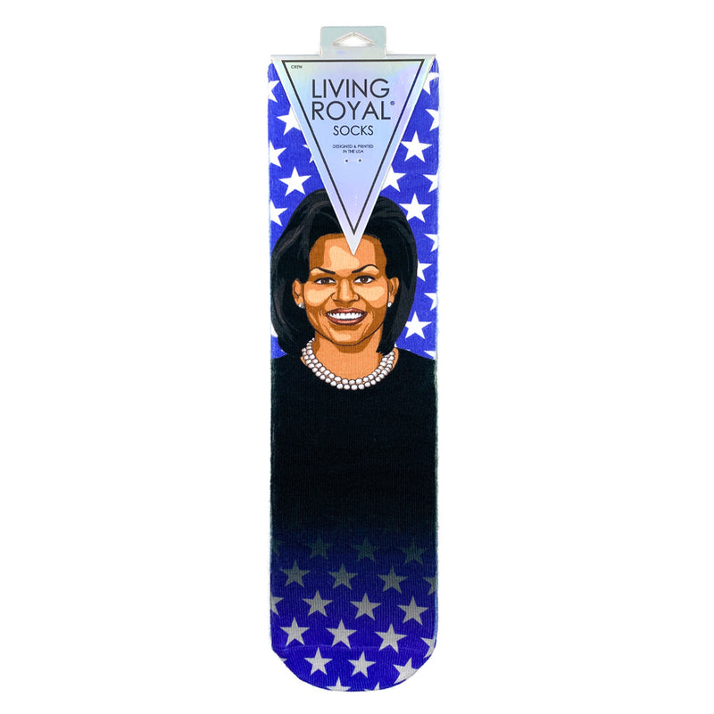Socks-Michelle Obama Crew