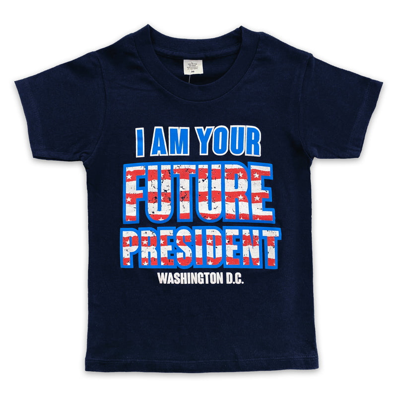 I am your future president kids t-shirt