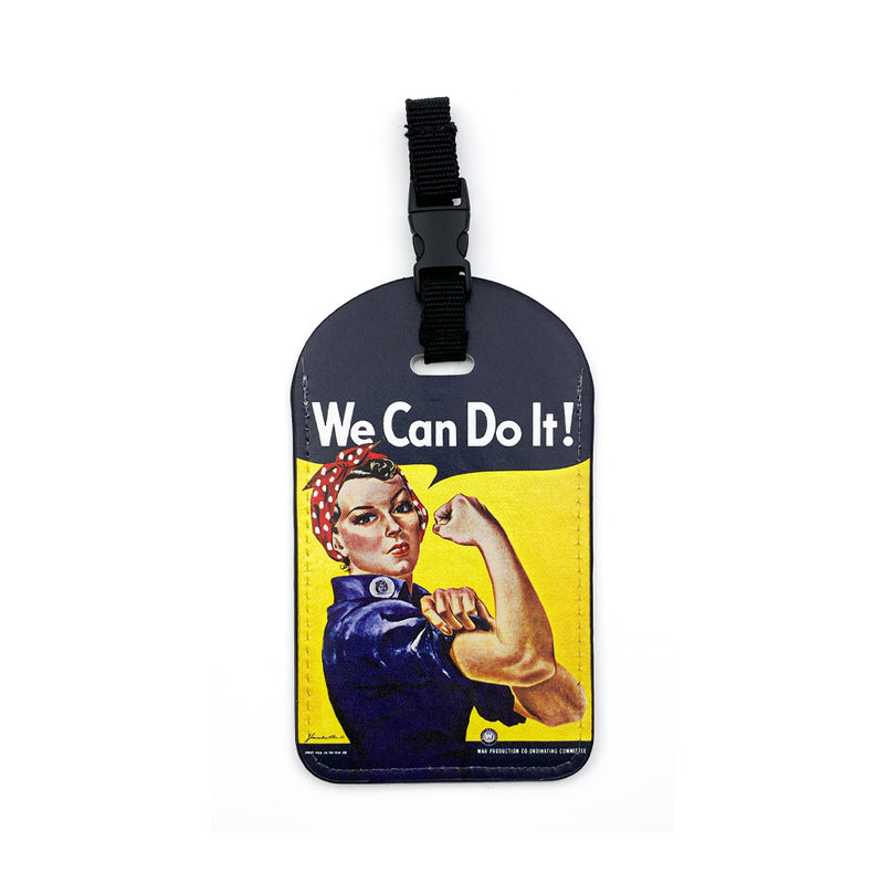 We Can Do It Rosie Luggage Tag