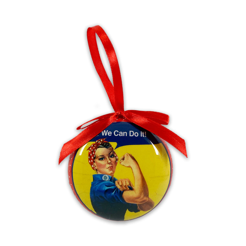 "Rosie ""We Can Do it"" Ornament"