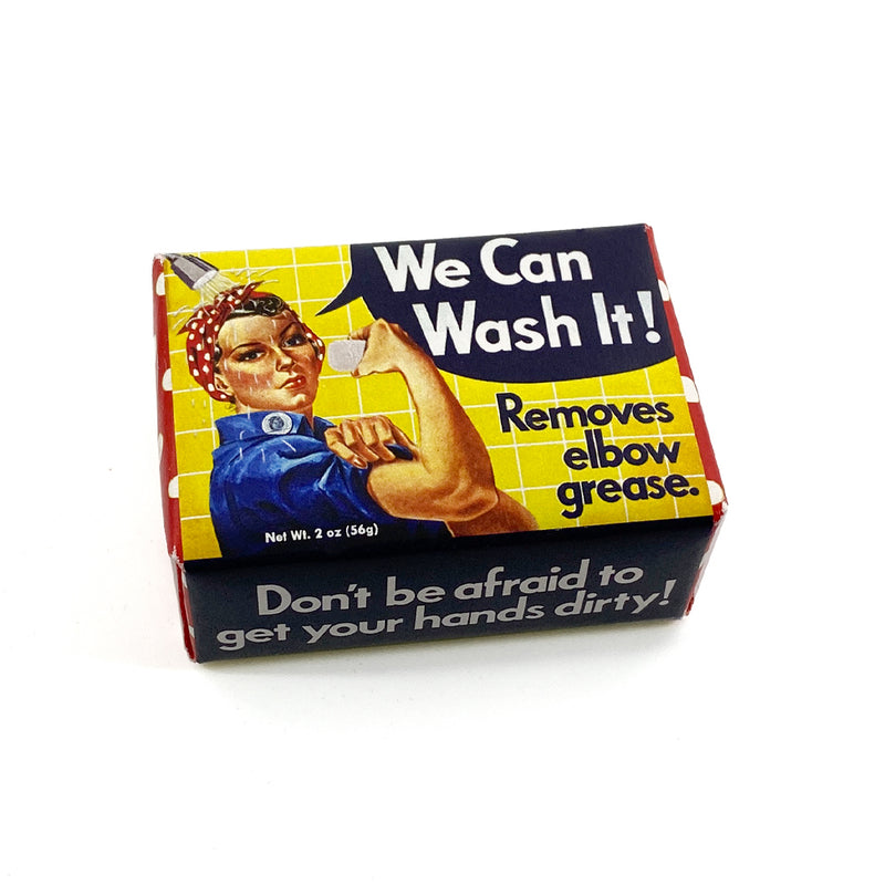 "We Can ""Wash"" It Rosie Soap"
