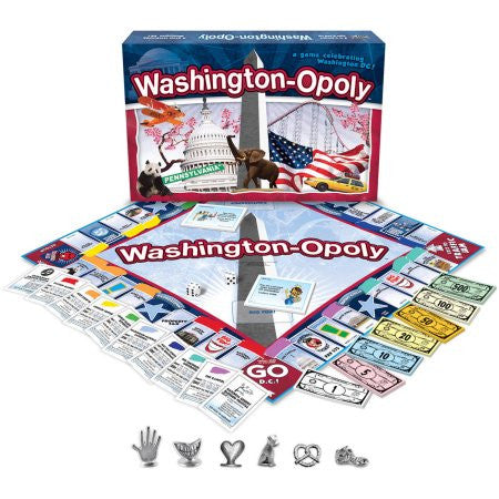Washington-Opoly Game