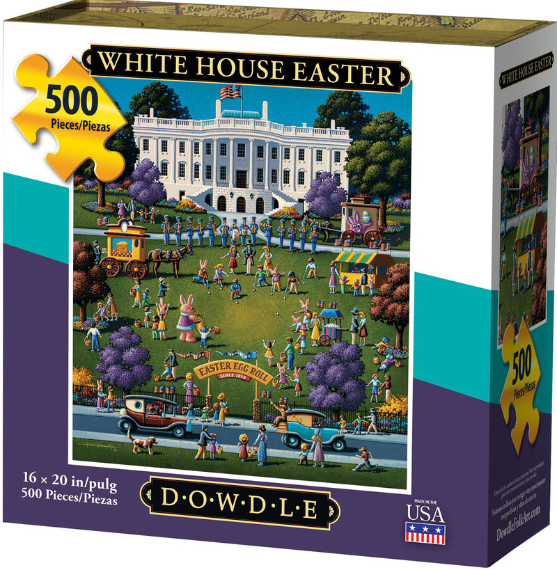 White House Easter 500 Piece Puzzle