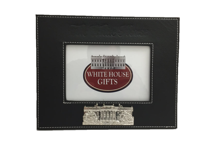 White House Leather Frame