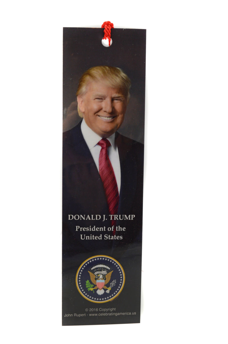 Trump Bookmark