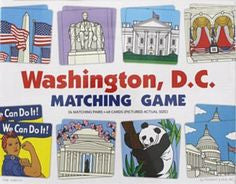 Washington DC Matching Game