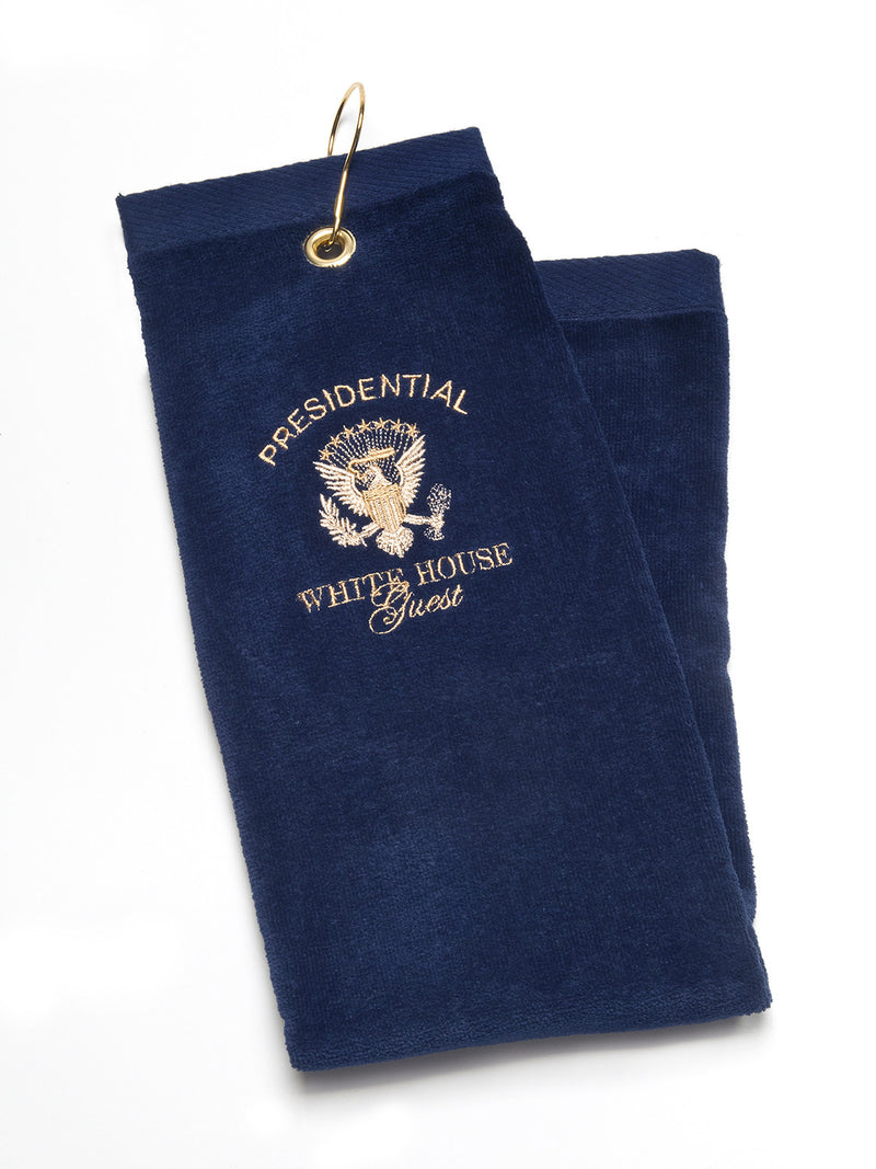 Presidential White House Guest Golf Towel