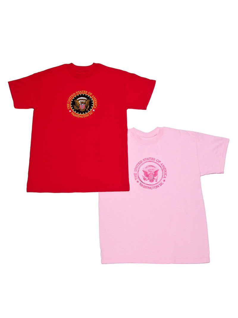 Children's T-Shirt Embroidered Presidential Seal