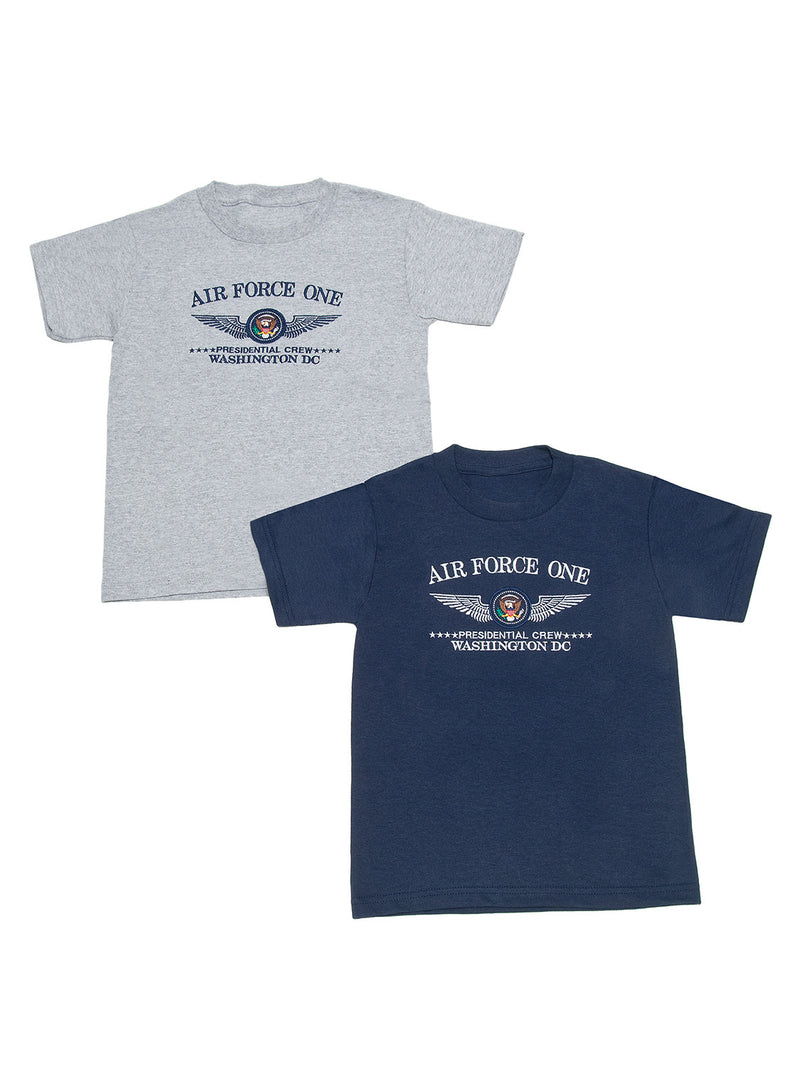 Children's T-Shirt Embroidered Air Force One