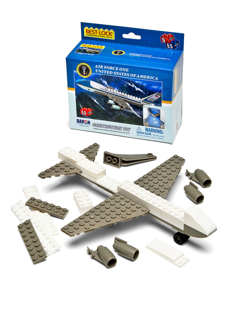 Air Force One 55 Piece Construction Set