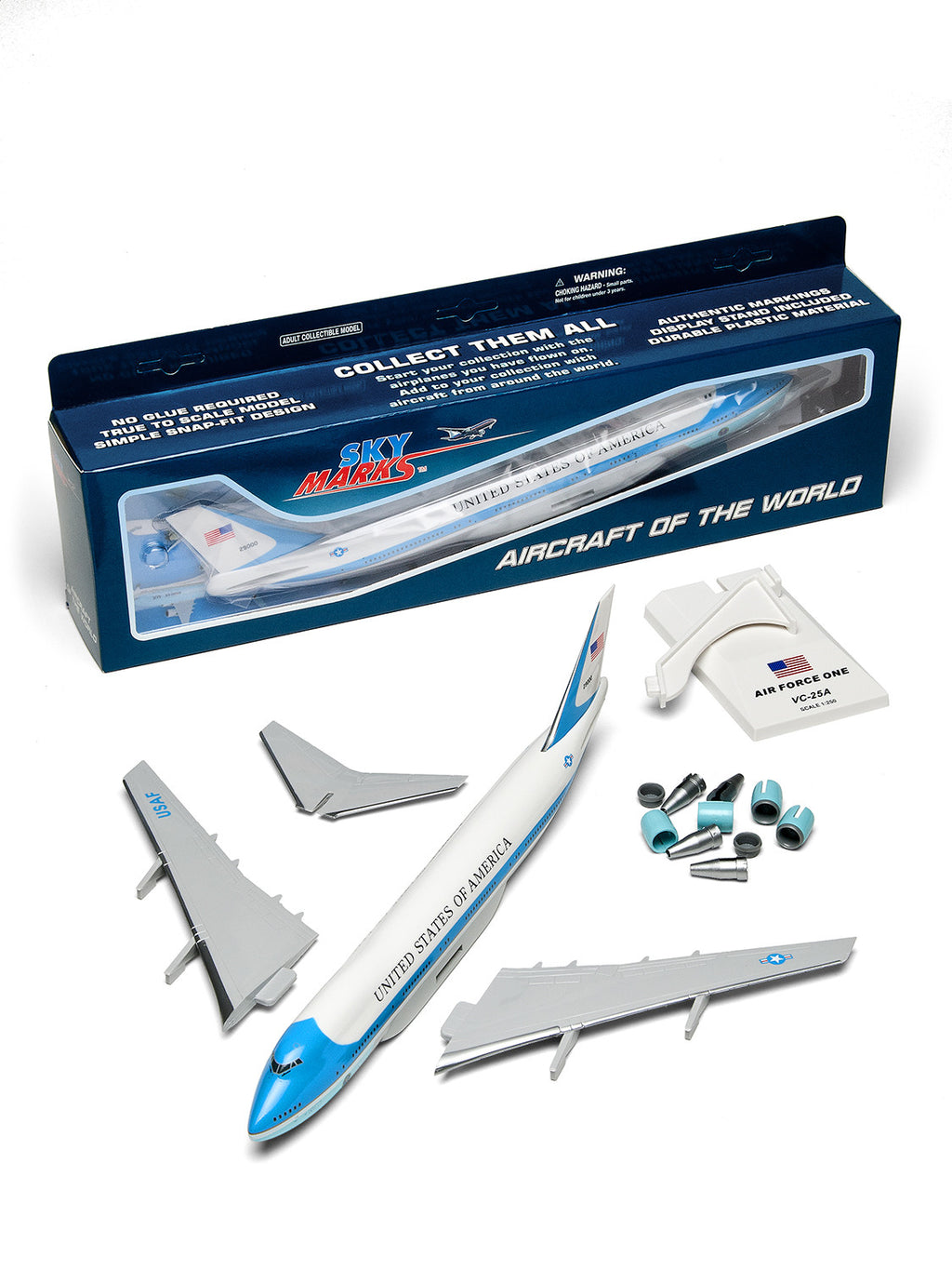 Air Force One Skymark Model Plane