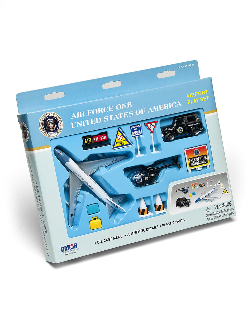 Air Force One 9 Piece Airport Play Set