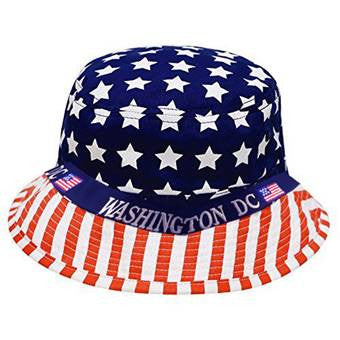 Washington DC Flag Bucket Hat