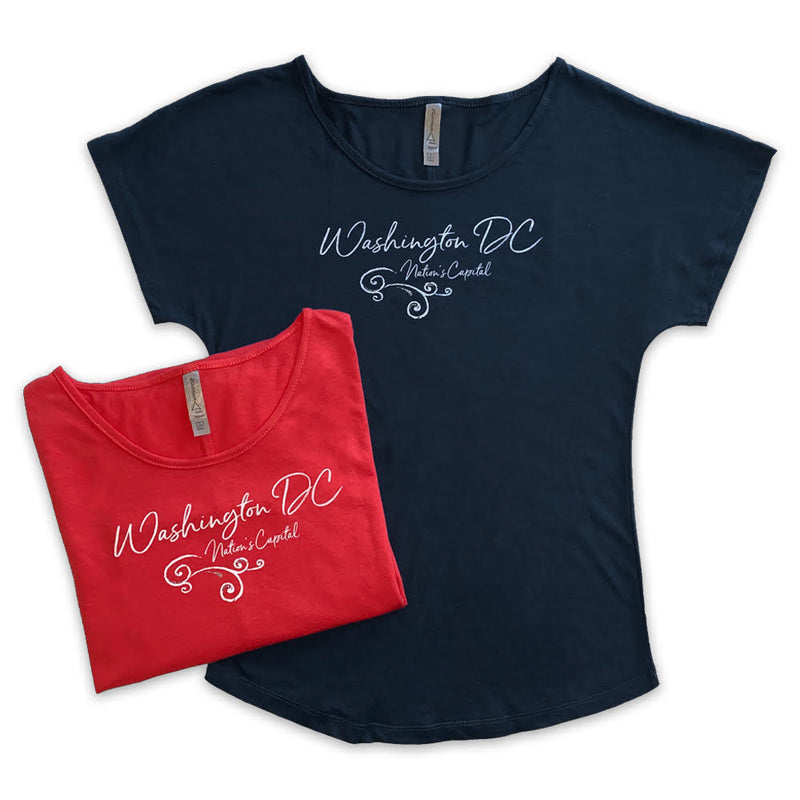 Ladies Washington DC Scoop T-Shirt