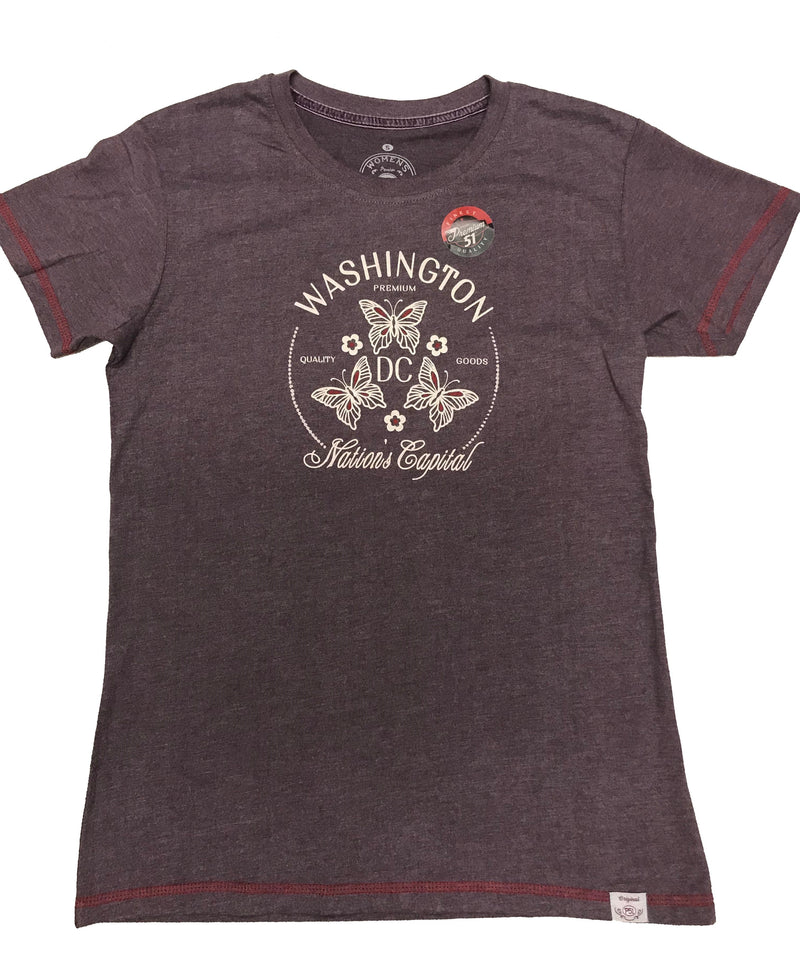 SALE! Washington DC Butterfly Ladies Shirt