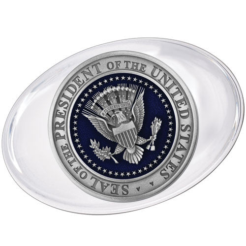 Presidential Seal Glass Paper Weight
