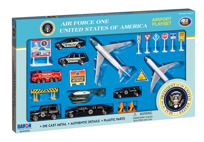 Air Force One 22 Piece Play Set
