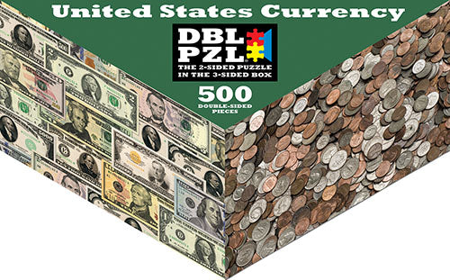United States Currency Money Puzzle