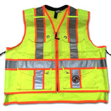 "SVX ""Xback"" Summer Vest, LIGHT DUTY, Available in: Safety Orange, Power Yellow, Lime Green"