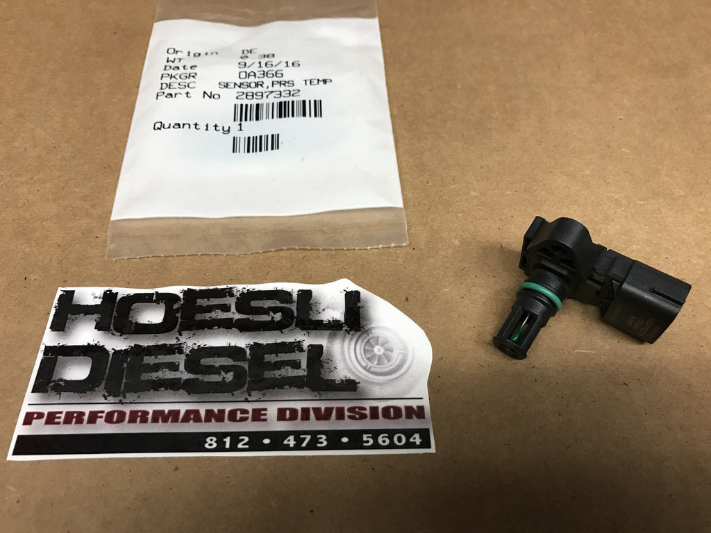 Intake Air Temp Sensor, Cummins 2007.5-17 6.7L