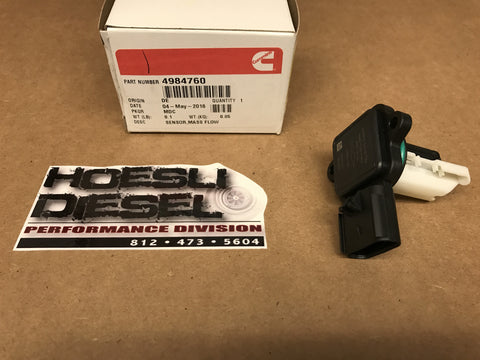 Mass Air Flow Sensor, Cummins/Nissan ISV 2016-17