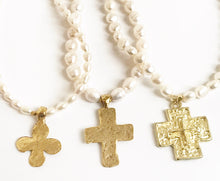 Cross on Pearls One