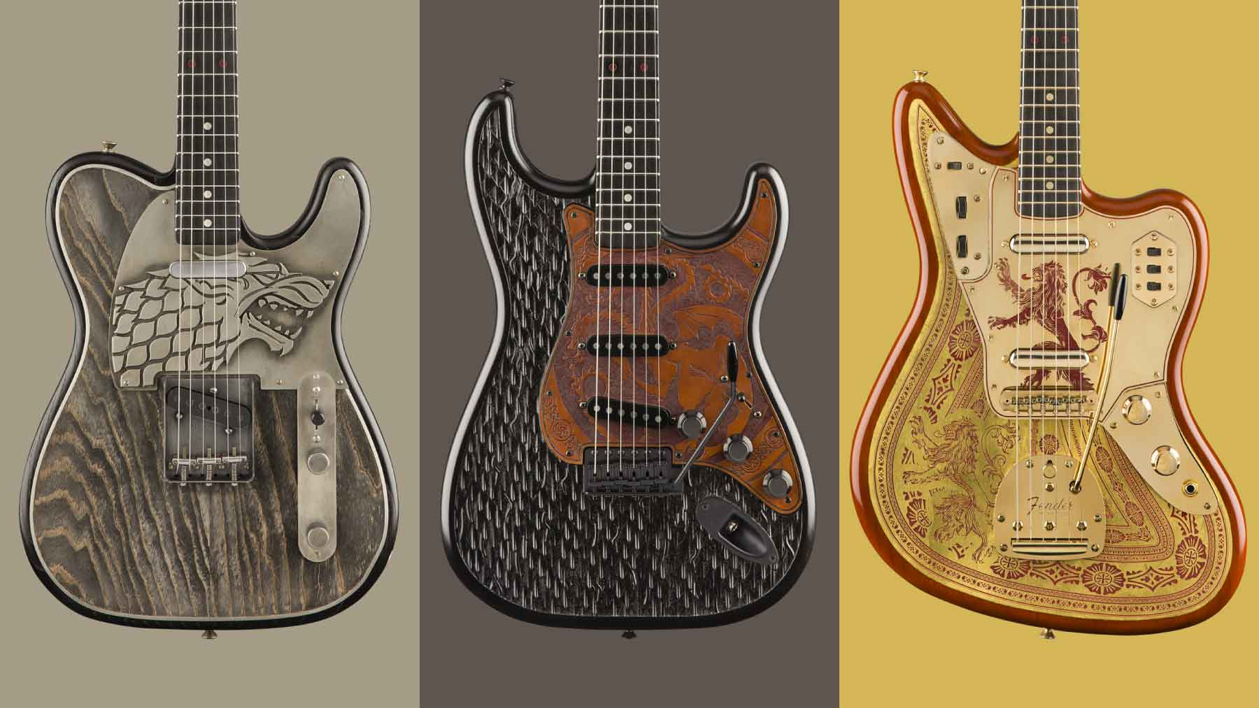 Fender Game of Thrones Sigil Collection