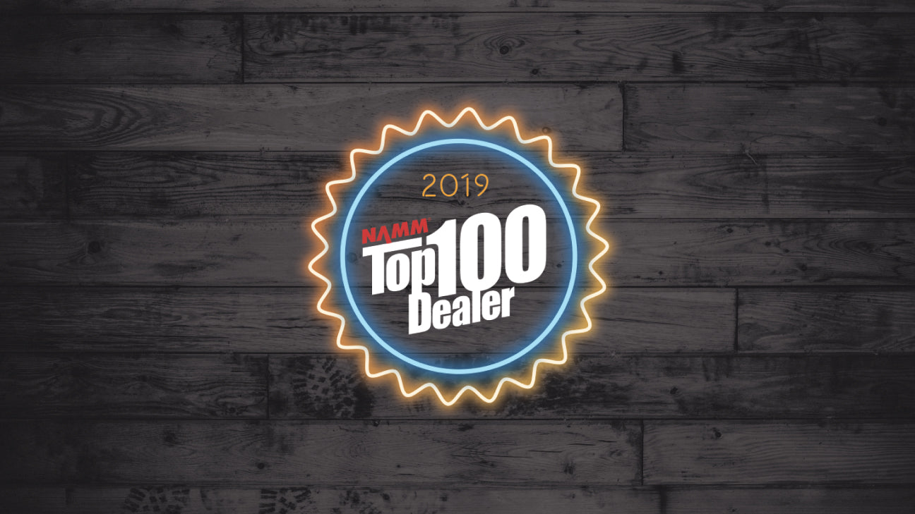 Tarpley Music Named One of the Top 100 Music Stores in the World