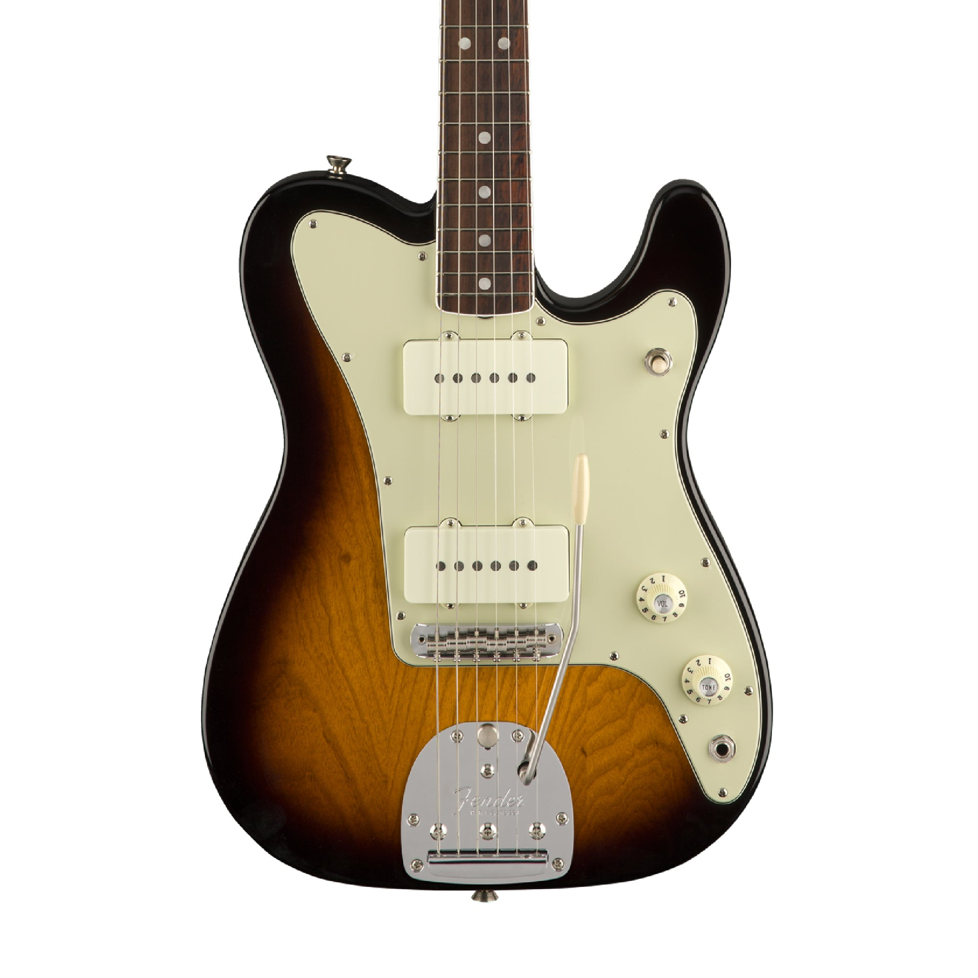 Fender Parallel Universe Jazz Tele - 2 Color Sunburst (June 2018)