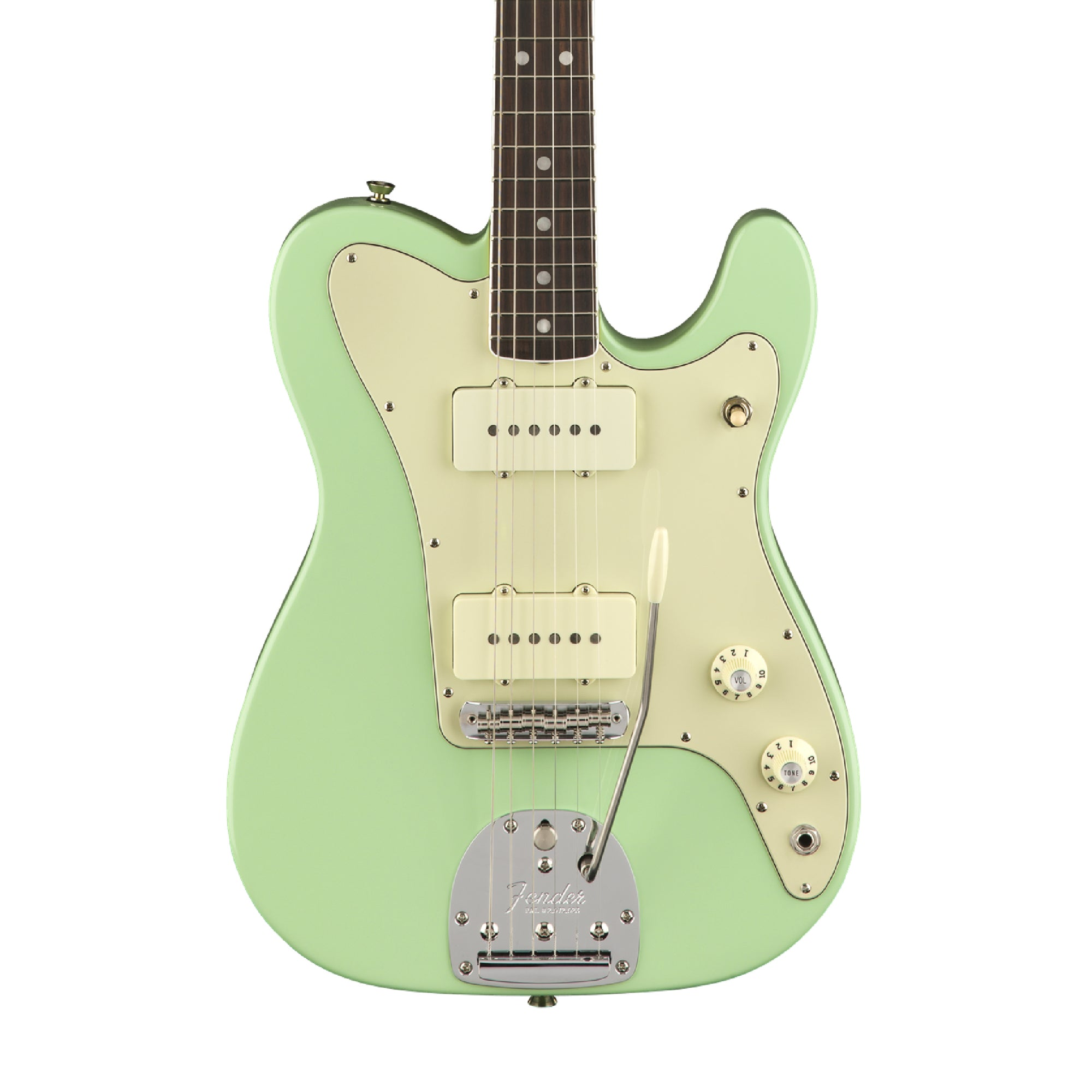 Fender Parallel Universe Jazz Tele - Surf Green (June 2018)