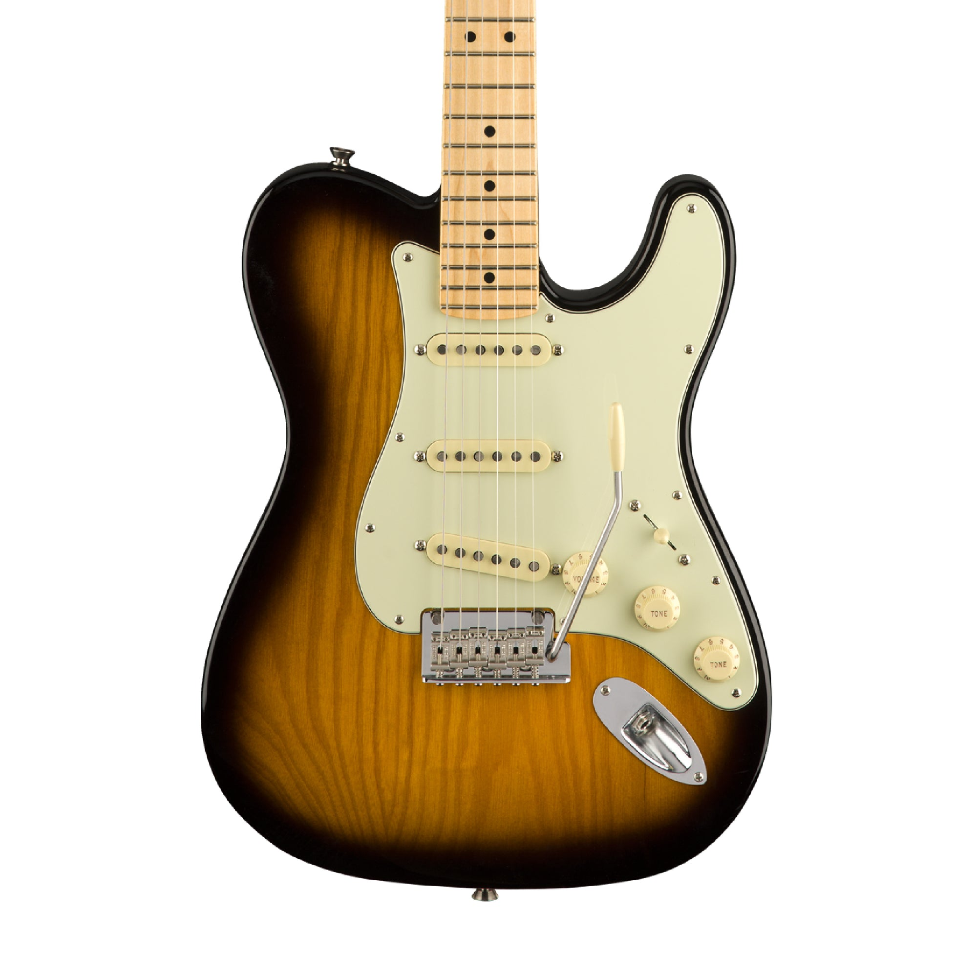 Fender Parallel Universe Strat-Tele Hybrid - 2 Color Sunburst (April 2018)