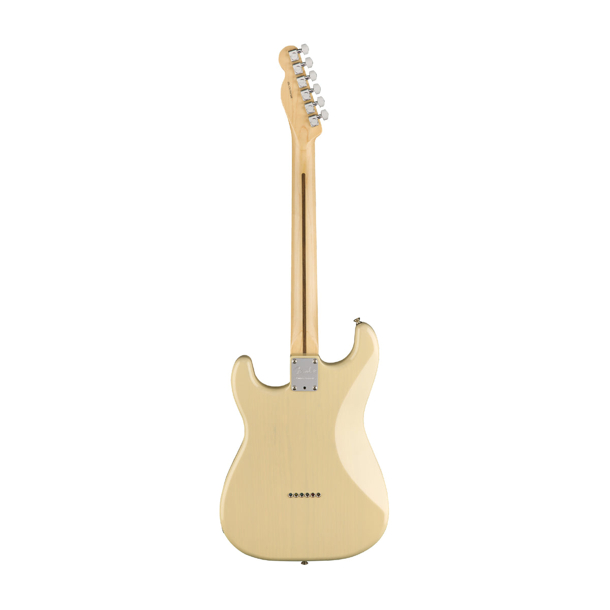 Fender Parallel Universe Whiteguard Strat - Vintage Blonde (September 2018) - Tarpley Music Company, Inc.