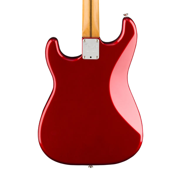 Fender Parallel Universe Jaguar Strat - Candy Red (October 2018) - Tarpley Music Company, Inc.