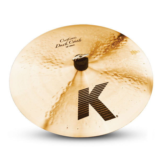 "Zildjian 16"" K Custom Dark Crash - Tarpley Music Company, Inc."