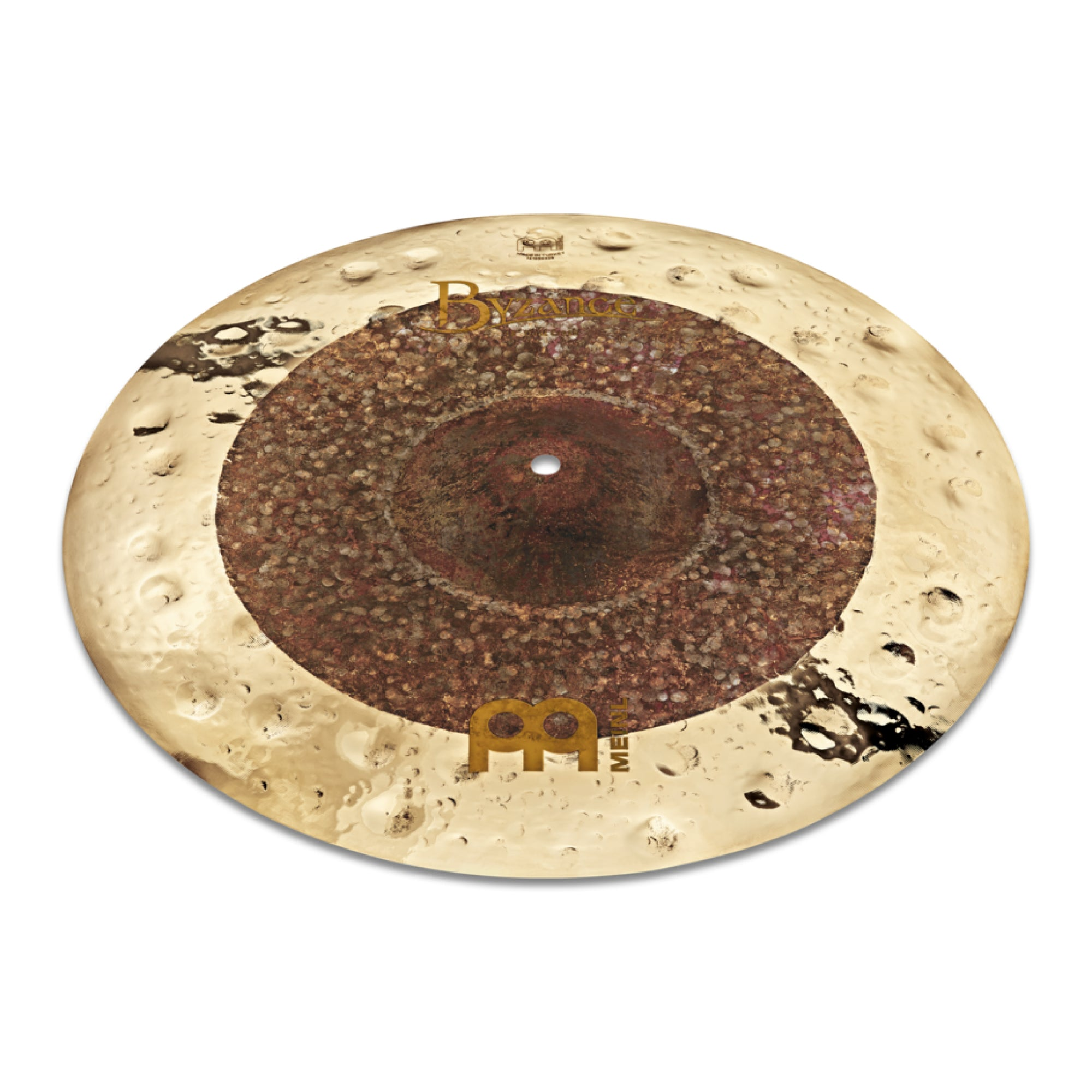 "Meinl 18"" Byzance Extra Dry Dual Crash - Tarpley Music Company, Inc."