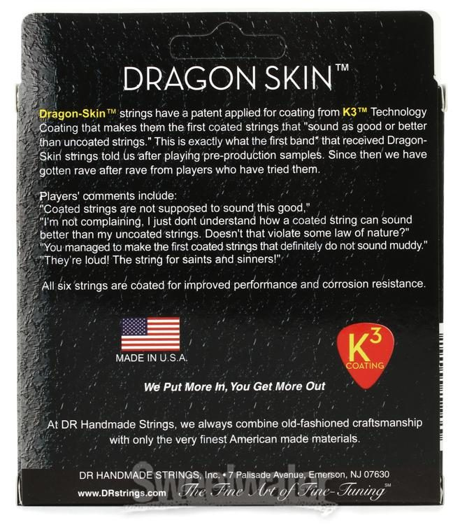 DR Strings Stg Elec Dragon Skin Med - DSE10