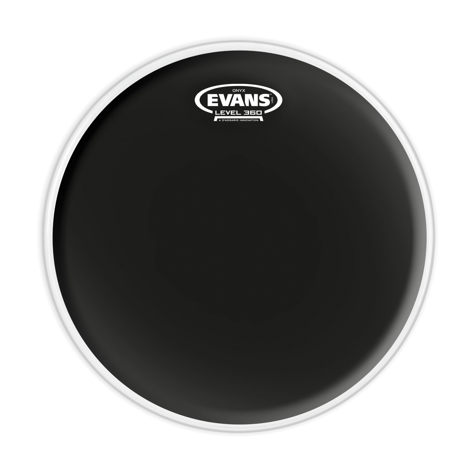 "Evans 12"" Onyx Snare/Tom/Timbale - Tarpley Music Company, Inc."