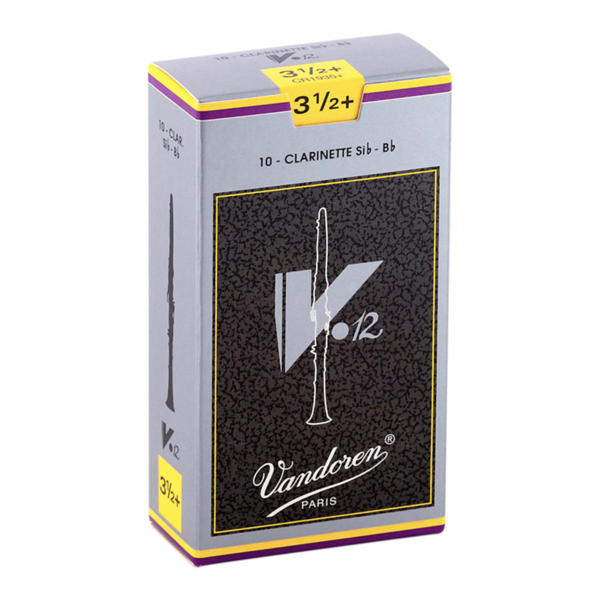 Vandoren Reed Clarinet V12 3.5+ - CR1935+